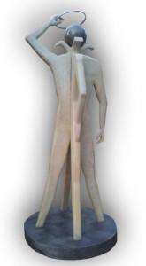 Αγαλμα με επιστρωση Resin